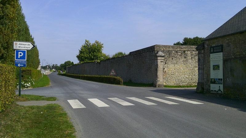 parking abbaye
